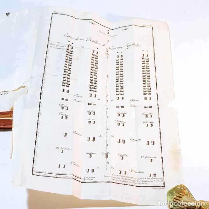 Libros antiguos: Tratado de castramentación ó arte de campar. D. Vicente Ferraz. Imprenta Real. 1800. - Foto 14 - 243434230