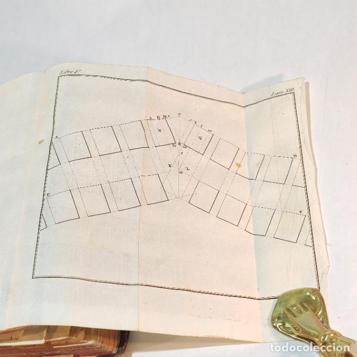 Libros antiguos: Tratado de castramentación ó arte de campar. D. Vicente Ferraz. Imprenta Real. 1800. - Foto 15 - 243434230