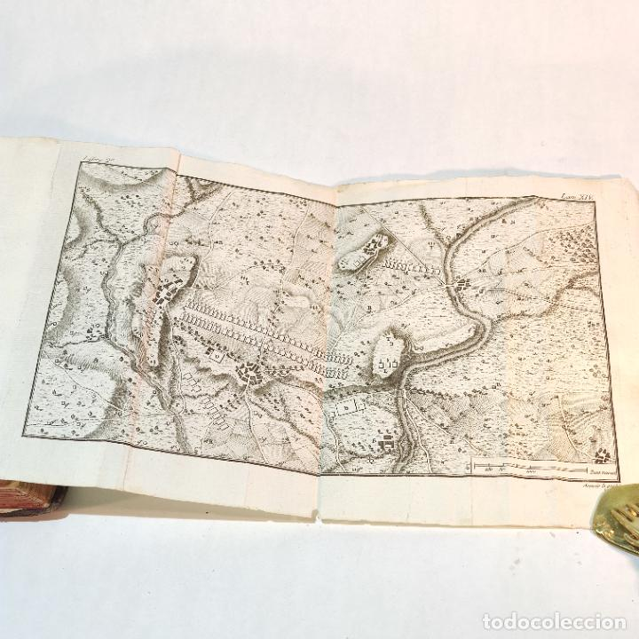 Libros antiguos: Tratado de castramentación ó arte de campar. D. Vicente Ferraz. Imprenta Real. 1800. - Foto 16 - 243434230