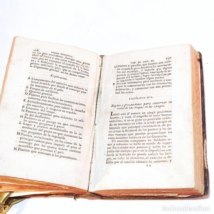 Libros antiguos: Tratado de castramentación ó arte de campar. D. Vicente Ferraz. Imprenta Real. 1800. - Foto 17 - 243434230