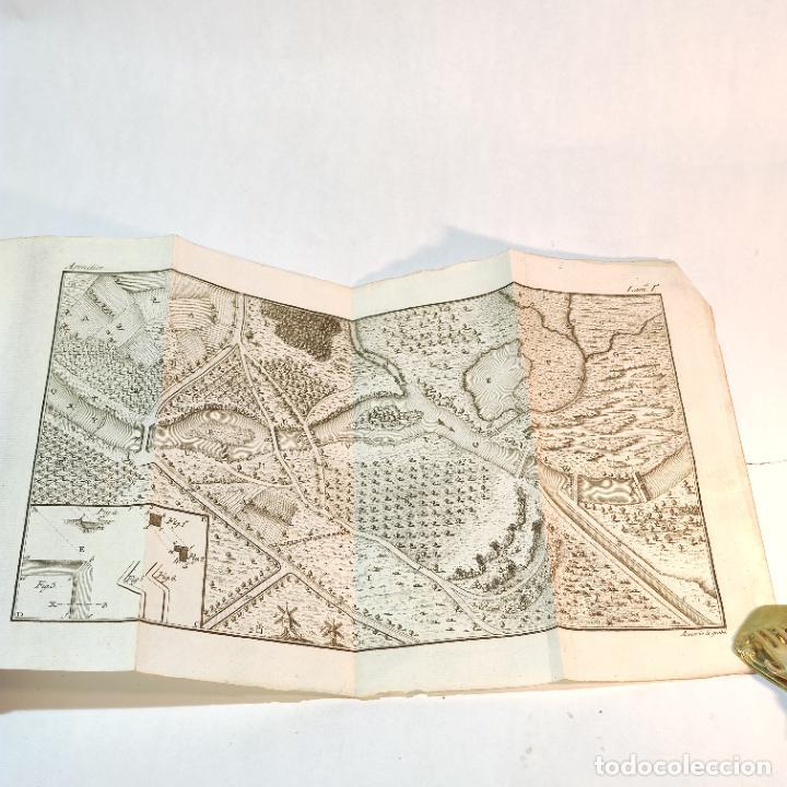 Libros antiguos: Tratado de castramentación ó arte de campar. D. Vicente Ferraz. Imprenta Real. 1800. - Foto 19 - 243434230