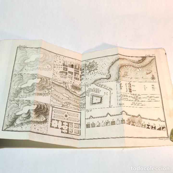 Libros antiguos: Tratado de castramentación ó arte de campar. D. Vicente Ferraz. Imprenta Real. 1800. - Foto 20 - 243434230