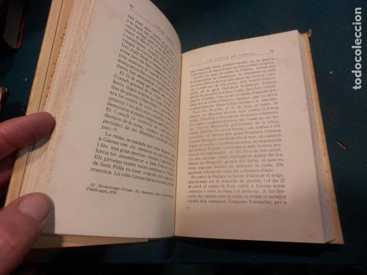 Libros antiguos: LA CIUTAT DE GIRONA - VOL. I + II - 2 LIBROS EN CATALÀ DE CARLES RAHOLA - EDITORIAL BARCINO 1929 - Foto 3 - 243532775