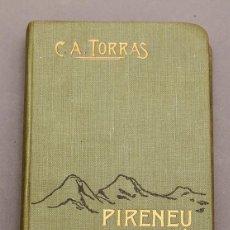Libri antichi: PIRINEU CATALÁ - GUÍA ITINERARI COMARCA DEL CARDENER - CESAR AUGUST TORRAS - CON MAPA. Lote 243823810