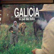 Libros antiguos: GALICIA A PE DE FOTO.1987..GRAN TAMAÑO. Lote 244809920
