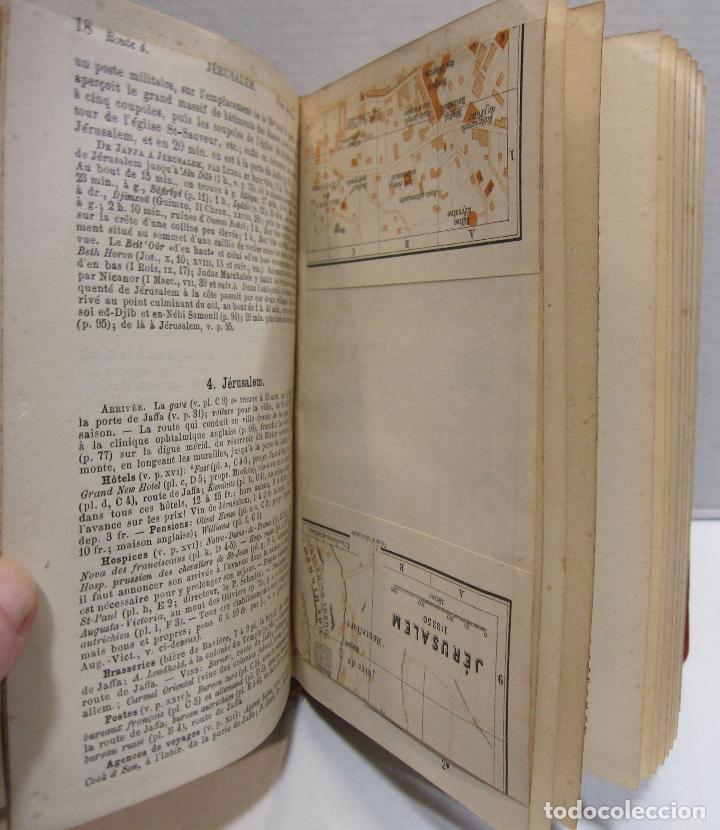 Libros antiguos: BAEDEKER, Karl. Palestine et Syrie... a travers la Mesoptamie et la Babylonie. L'ILE DE CHYPRE 1912 - Foto 7 - 244877475