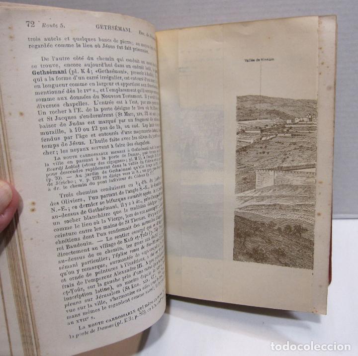 Libros antiguos: BAEDEKER, Karl. Palestine et Syrie... a travers la Mesoptamie et la Babylonie. L'ILE DE CHYPRE 1912 - Foto 8 - 244877475