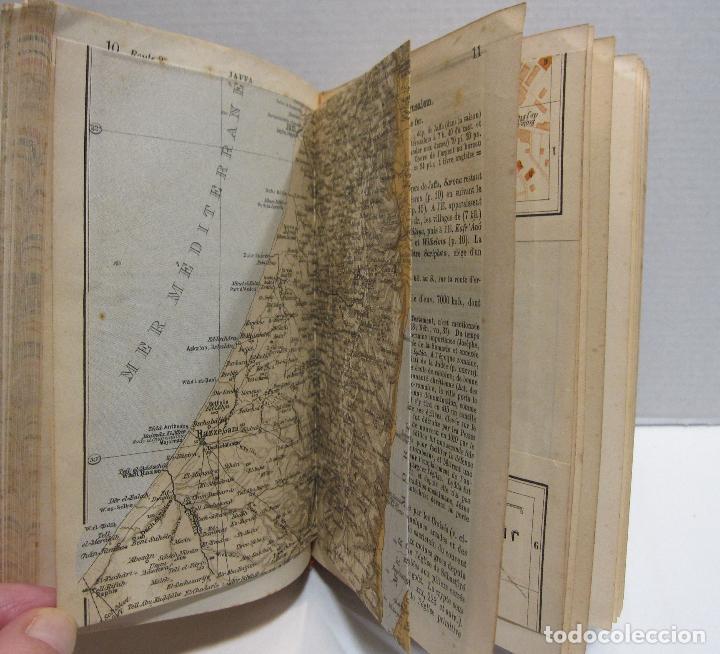 Libros antiguos: BAEDEKER, Karl. Palestine et Syrie... a travers la Mesoptamie et la Babylonie. L'ILE DE CHYPRE 1912 - Foto 9 - 244877475
