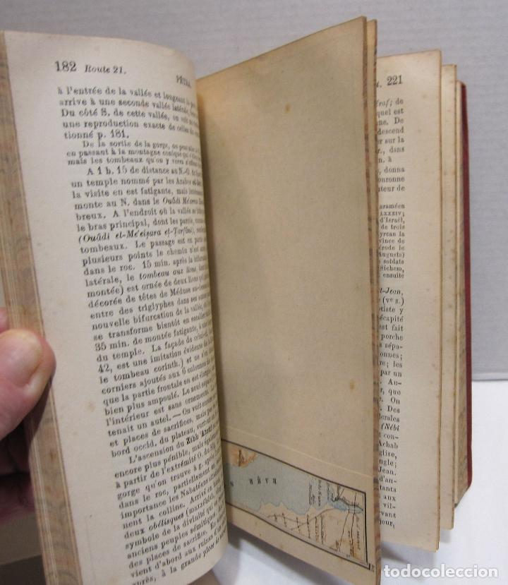 Libros antiguos: BAEDEKER, Karl. Palestine et Syrie... a travers la Mesoptamie et la Babylonie. L'ILE DE CHYPRE 1912 - Foto 12 - 244877475