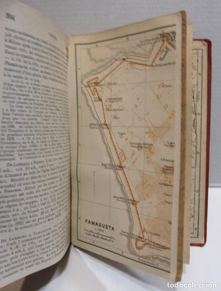 Libros antiguos: BAEDEKER, Karl. Palestine et Syrie... a travers la Mesoptamie et la Babylonie. L'ILE DE CHYPRE 1912 - Foto 13 - 244877475