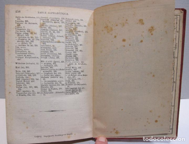 Libros antiguos: BAEDEKER, Karl. Palestine et Syrie... a travers la Mesoptamie et la Babylonie. L'ILE DE CHYPRE 1912 - Foto 14 - 244877475