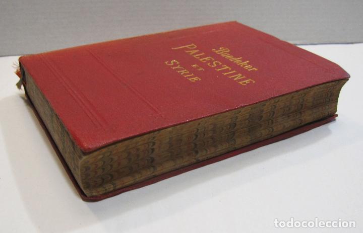 Libros antiguos: BAEDEKER, Karl. Palestine et Syrie... a travers la Mesoptamie et la Babylonie. L'ILE DE CHYPRE 1912 - Foto 17 - 244877475