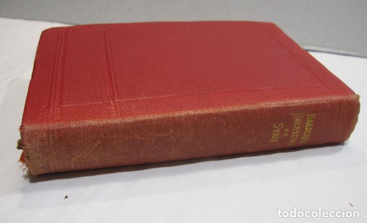 Libros antiguos: BAEDEKER, Karl. Palestine et Syrie... a travers la Mesoptamie et la Babylonie. L'ILE DE CHYPRE 1912 - Foto 18 - 244877475