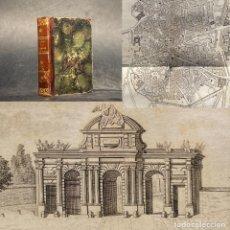 Libros antiguos: 1844 - MANUAL HISTORICO TOPOGRAFICO DE MADRID - MESONERO ROMANOS - GUIA - VIAJES. Lote 245119035
