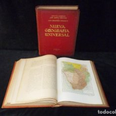 Libros antiguos: NUEVA GEOGRAFÍA UNIVERSAL. ERNESTO GRANGER, JUAN DANTIN Y JUAN IZQUIERDO. 2 TOMOS. ESPASA CALPE, 192. Lote 245154840