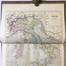 Libros antiguos: [GÉOGRAPHIE DE... EUROPE-ITALIE]. - MALTE-BRUN.. Lote 245194950
