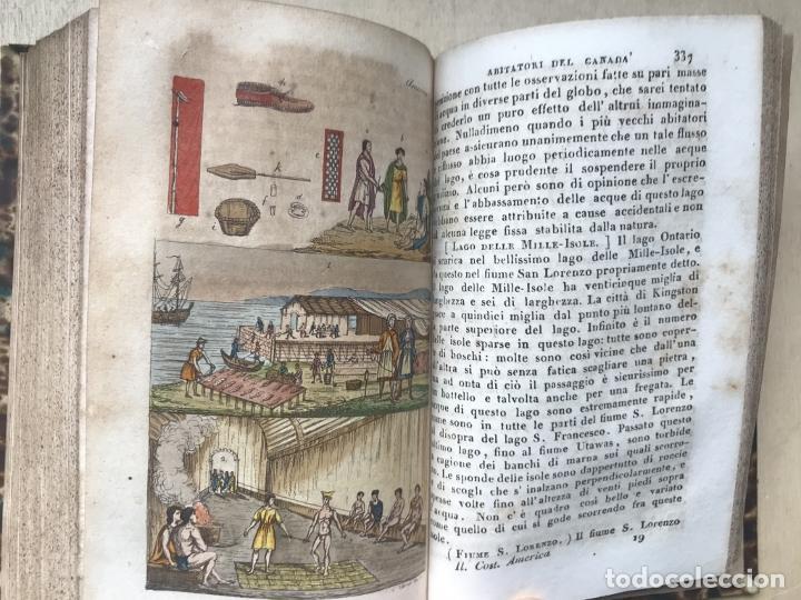 Libros antiguos: Il costume Antico e Moderno....4 tomos de America. Giulio Ferrario. Grabados a color - Foto 9 - 245378180