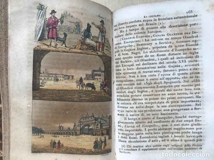 Libros antiguos: Il costume Antico e Moderno....4 tomos de America. Giulio Ferrario. Grabados a color - Foto 22 - 245378180