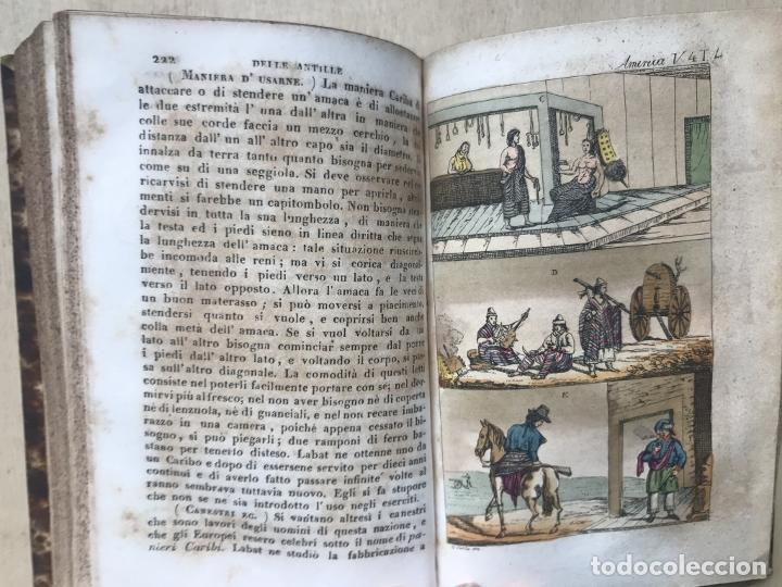 Libros antiguos: Il costume Antico e Moderno....4 tomos de America. Giulio Ferrario. Grabados a color - Foto 23 - 245378180