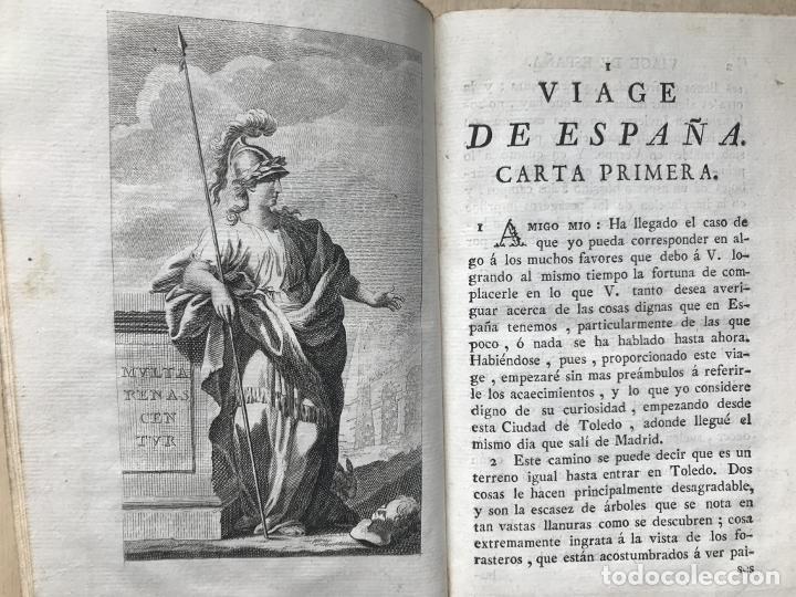 Libros antiguos: Viage de España,...tomo I, 1776. Antonio Ponz. Grabados - Foto 7 - 245385670