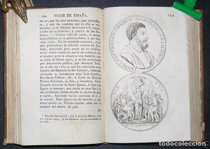 Libros antiguos: Viage de España,...tomo I, 1776. Antonio Ponz. Grabados - Foto 20 - 245385670