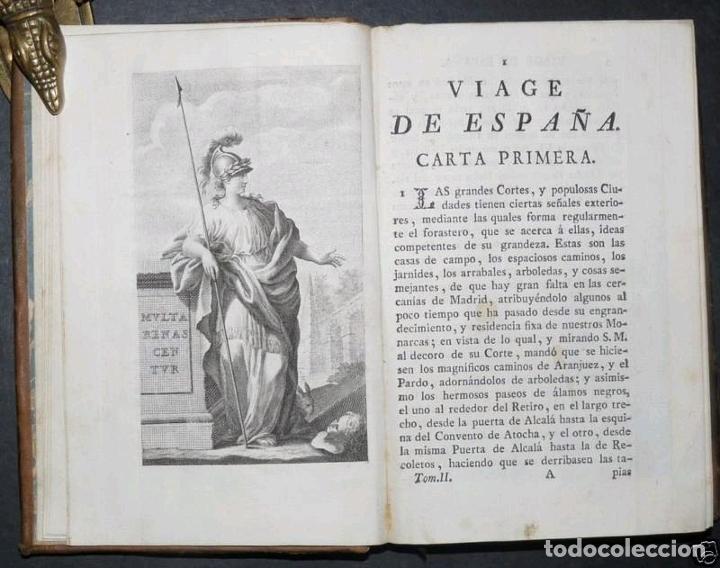 Libros antiguos: Viage de España,...tomo II, 1776. Antonio Ponz. Grabados - Foto 3 - 245393540