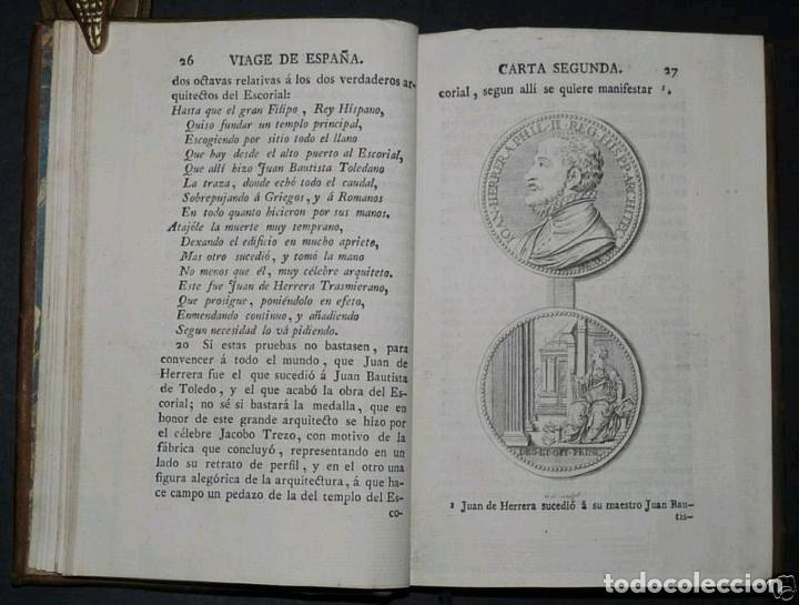 Libros antiguos: Viage de España,...tomo II, 1776. Antonio Ponz. Grabados - Foto 6 - 245393540