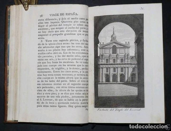 Libros antiguos: Viage de España,...tomo II, 1776. Antonio Ponz. Grabados - Foto 7 - 245393540