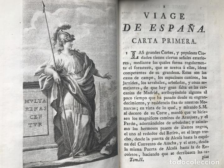 Libros antiguos: Viage de España,...tomo II, 1776. Antonio Ponz. Grabados - Foto 15 - 245393540