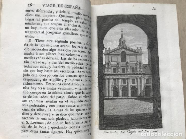 Libros antiguos: Viage de España,...tomo II, 1776. Antonio Ponz. Grabados - Foto 19 - 245393540
