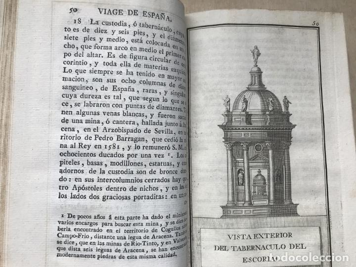 Libros antiguos: Viage de España,...tomo II, 1776. Antonio Ponz. Grabados - Foto 21 - 245393540