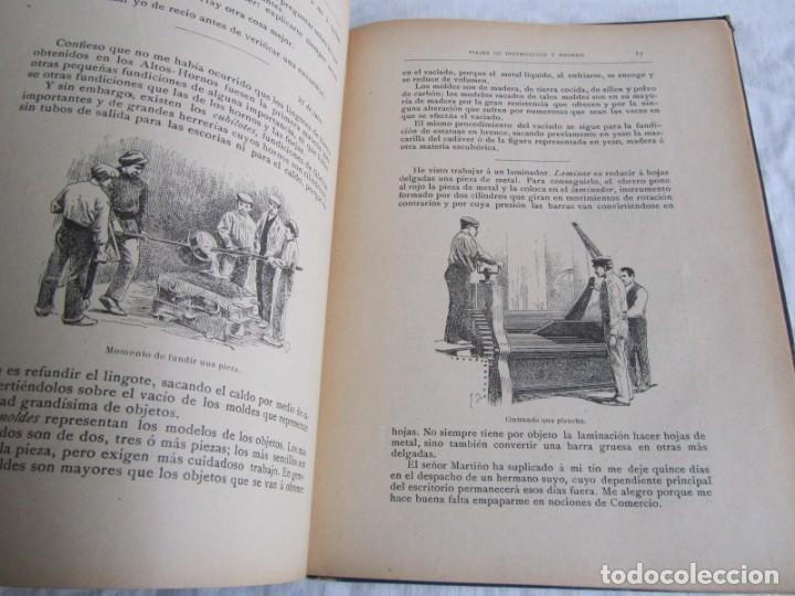 Libros antiguos: Viajes de instrucción y recreo por Europa y América, Ed. Barcelona, 1909 - Foto 11 - 245458415