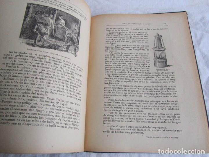 Libros antiguos: Viajes de instrucción y recreo por Europa y América, Ed. Barcelona, 1909 - Foto 12 - 245458415
