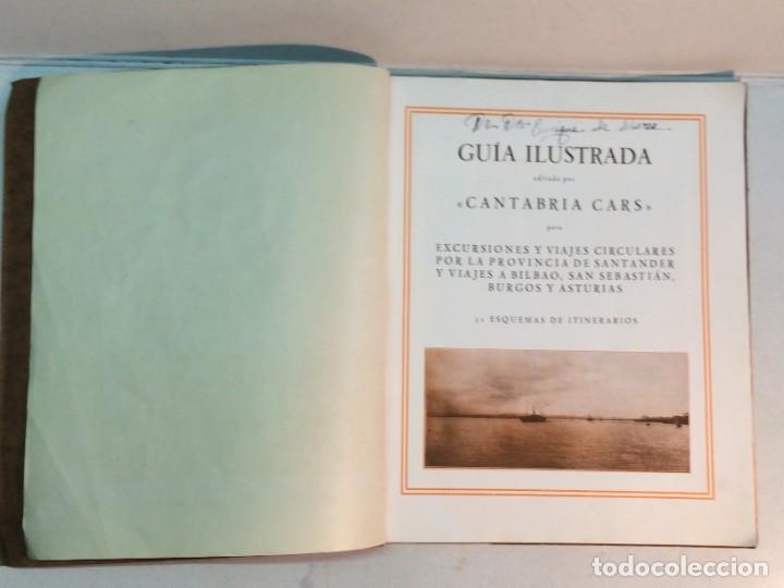 Libros antiguos: Cantabria-cars: Guía Ilustrada de la Provincia de Santander - Foto 3 - 245503490