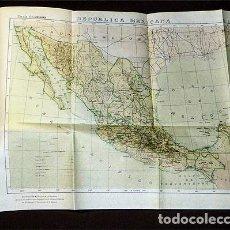 Libros antiguos: MÉXICO. SUS RECURSOS NATURALES. SU SITUACIÓN ACTUAL. (1922) HOMENAJE A BRASIL EN OCASIÓN DEL PRIMER. Lote 246685660