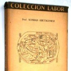 Libros antiguos: HISTORIA DE LA GEOGRAFÍA POR KONRAD KRETSCHMER DE ED. LABOR EN BARCELONA 1926. Lote 246718865