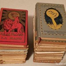 Libros antiguos: EL AÑO EN LA MANO ALMANAQUE DE LA VIDA 20 TOMOS 1913 EL HUNDIMIENTO DEL TITANIC. Lote 247426230