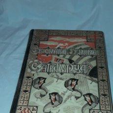 Libri antichi: LIBRO GEOGRAFÍA GENERAL DE CATALUNYA PROVINCIA DE GERONA CELS GOMIS FRANCESCH CARRERAS CANDI. Lote 247447660