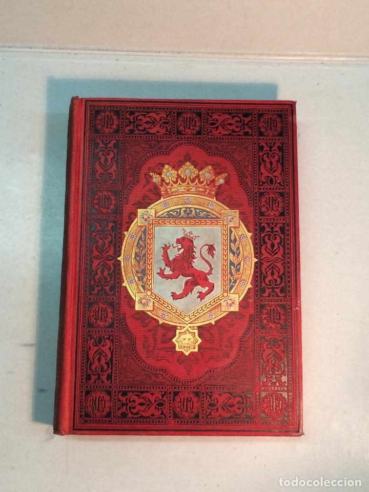JOSÉ Mª QUADRADO: ESPAÑA. SUS MONUMENTOS Y ARTES. SU NATURALEZA E HISTORIA. ASTURIAS Y LEÓN (1885) (Libros Antiguos, Raros y Curiosos - Geografía y Viajes)
