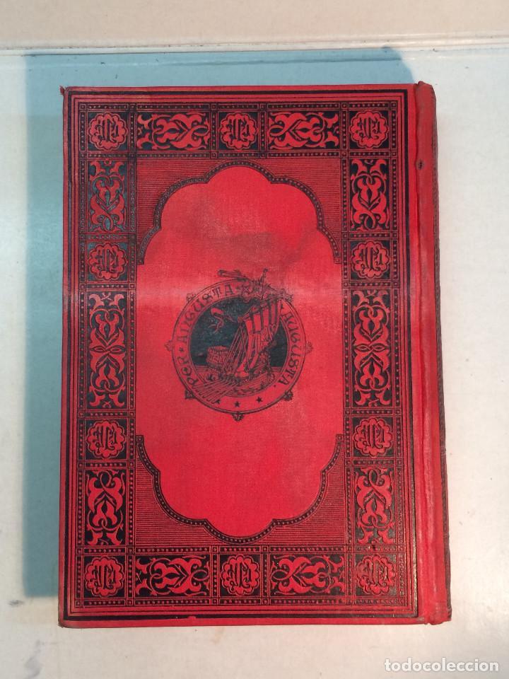 Libros antiguos: José Mª Quadrado: España. Sus monumentos y artes. Su naturaleza e historia. Asturias y León (1885) - Foto 3 - 248682045