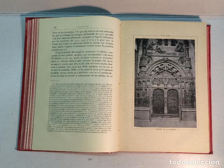 Libros antiguos: José Mª Quadrado: España. Sus monumentos y artes. Su naturaleza e historia. Asturias y León (1885) - Foto 6 - 248682045