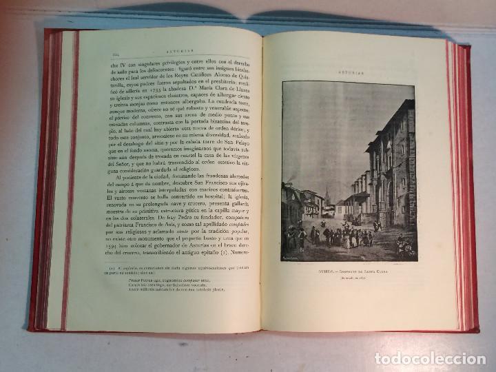 Libros antiguos: José Mª Quadrado: España. Sus monumentos y artes. Su naturaleza e historia. Asturias y León (1885) - Foto 7 - 248682045