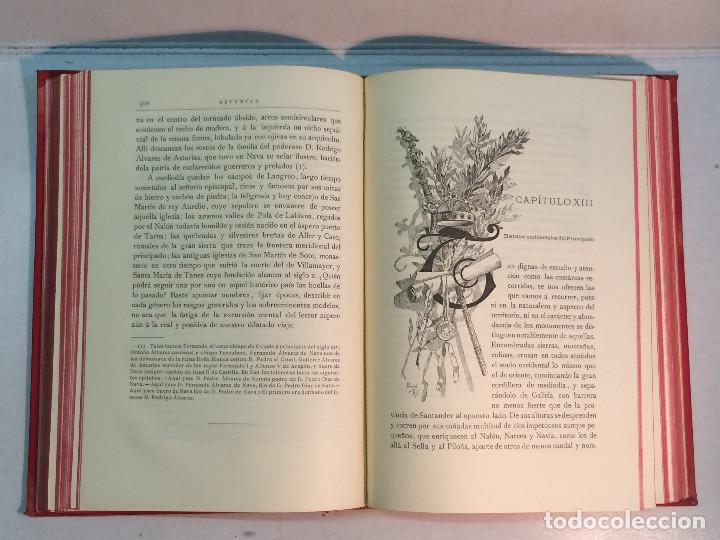 Libros antiguos: José Mª Quadrado: España. Sus monumentos y artes. Su naturaleza e historia. Asturias y León (1885) - Foto 8 - 248682045