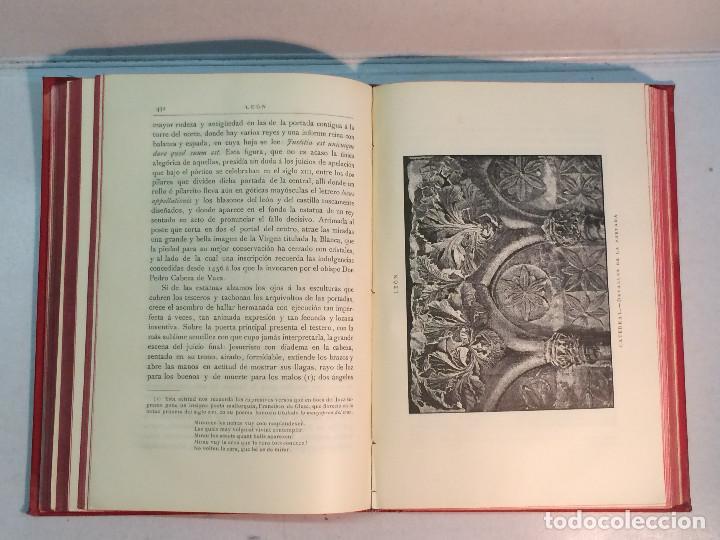 Libros antiguos: José Mª Quadrado: España. Sus monumentos y artes. Su naturaleza e historia. Asturias y León (1885) - Foto 9 - 248682045