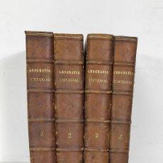 Livres anciens: NUEVA GEOGRAFÍA UNIVERSAL - IV TOMOS, COMPLETA - ED MONTANER Y SIMÓN - AÑO 1879. Lote 249527285