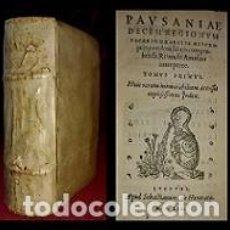Libros antiguos: 1559. POST INCUNABLE. LIBRO EN PERGAMINO SOBRE VIAJES. RARISIMO. Lote 253308090