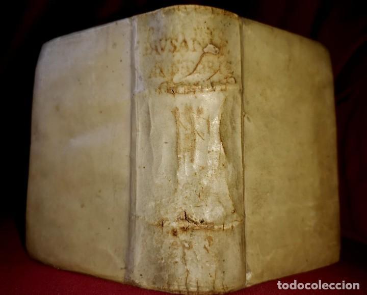 Libros antiguos: 1559. POST INCUNABLE. LIBRO EN PERGAMINO SOBRE VIAJES. RARISIMO - Foto 6 - 253308090