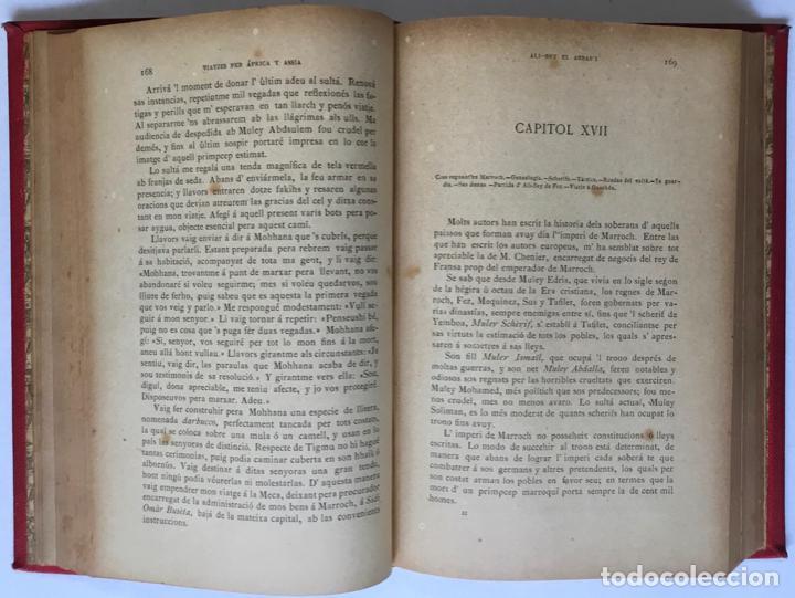Libros antiguos: VIATJES DE ALI BEY EL ABBASSI (Domingo Badia y Leblich). Per África y Assia, durant los anys 1803, - Foto 3 - 123160306