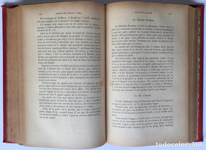 Libros antiguos: VIATJES DE ALI BEY EL ABBASSI (Domingo Badia y Leblich). Per África y Assia, durant los anys 1803, - Foto 5 - 123160306