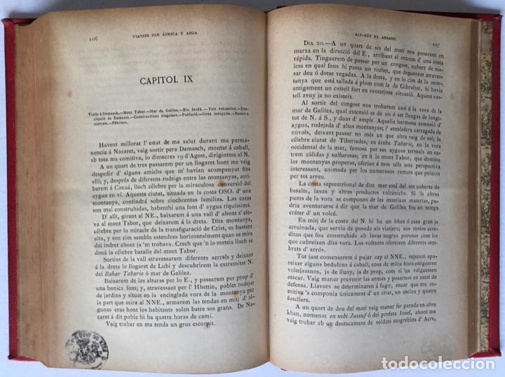 Libros antiguos: VIATJES DE ALI BEY EL ABBASSI (Domingo Badia y Leblich). Per África y Assia, durant los anys 1803, - Foto 7 - 123160306